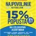 15% POPUSTA